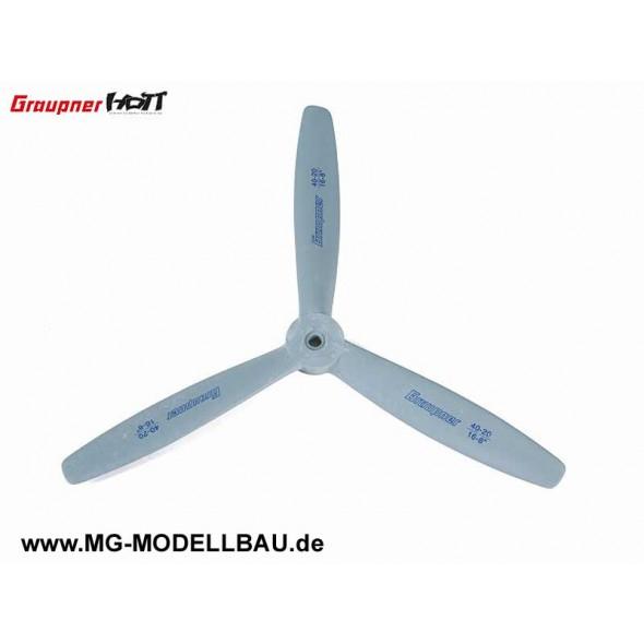 3-Blatt Luftschraube 40x25cm 16x10'
