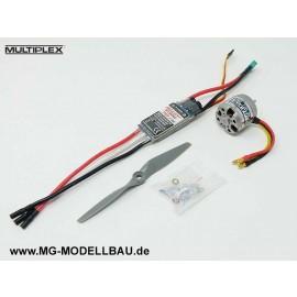 Antriebssatz FunJet 2 Multiplex 1-00961