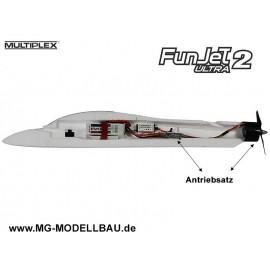 Antriebssatz FunJet ULTRA 2