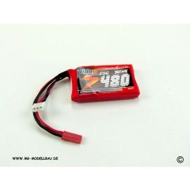 Lipo Cracker 7,4V 480mAh 25C