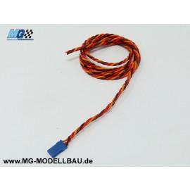 Servokabel Uni 3x0,50qmm² 100cm PVC