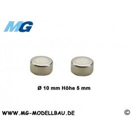 Mini Magnete Ø10x5mm Neodym (2)