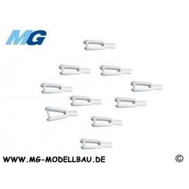 Gabelkopf aus Polyamid m2 Ve 10St.