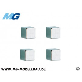 "Magnet-Set ""Cube"" (4)"