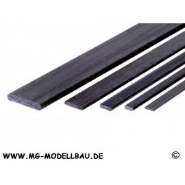CFK 4-kant 1,0x6,0x1000mm