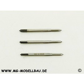 Handgewindebohrer M2,5 DIN352 HSS