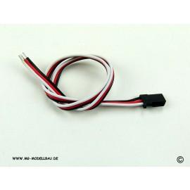 Servokabel Futaba 25cm 0.30qmm² PVC