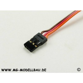 Servokabel Uni 30cm 3x0,30qmm² PVC