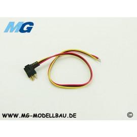 Servokabel Multiplex 25cm 0.14qmm² PVC