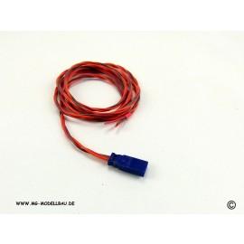 Servo-Buchsenkabel Uni 3x0,14qmm² 100cm