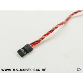 Servokabel Uni 50cm 3x0,34qmm² PVC