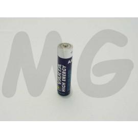AAA. Alkali batterie Blister 4 St V4903B