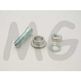 Luftschraubenkupplung Alu 4,0mm/8mm/M8x3