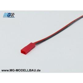 BEC Stecker 0,5mm² 30cm  Silikon kabel
