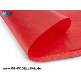 Bespannpapier rot 13g/m2 50,8x76,2cm