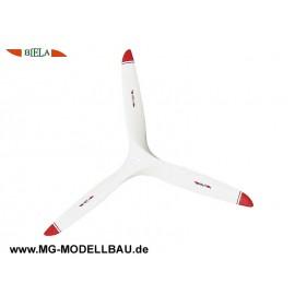 Luftschraube 3-Blatt 24x10 Biela-Sport