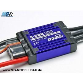 Brushless Regler S-Con 155 2-6S 155AH