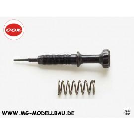 Cox Cox .049 Needle Valve - #309 Black