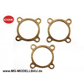 Cox.049/.051 Crankcase Gasket(3)