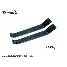 Carbon Fahrwerk - für Modelle bis 8500g