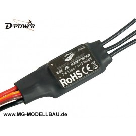 D-Power Bullet 12A Opto Brushless Regler
