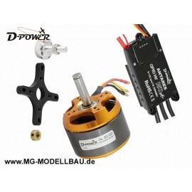 Brushless SET AL80-02 & 150Ah HV Regler