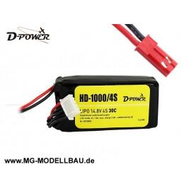 HD-1000 4S Lipo (14,8V) 30C - mit BEC St