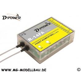 R-14FA 2,4 GHz Empfänger FASST