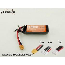 D-Power SD-2200 4S Lipo (14,8) 45C