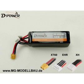 D-Power SD-4200 5S Lipo (18,5) 45C