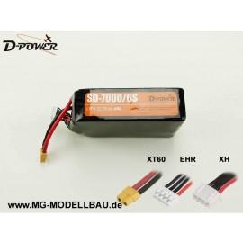 D-Power SD-7000 6S Lipo (22,2) 45C