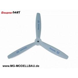 3-blatt Luftschraube 45x30cm 18x12'