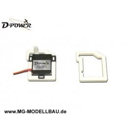 Servohalter für D-Power Servos AS/DS-840