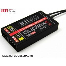JETI Empfänger Duplex 2.4EX REX3 40cm An