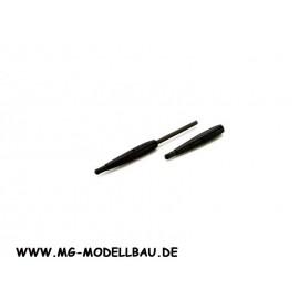 Blade 130X Kabinenhaubenhalter