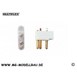 Stecker 3-Pol MPX (5St.)