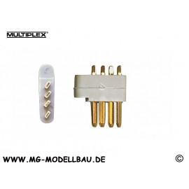 Stecker(MPX)4-Pol  5St