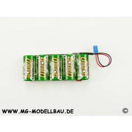 Empfängerakku X-Cell 6,0V 4,3AH Jr