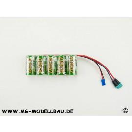 Empfängerakku X-Cell 6,0V 4,3AH Jr/MPX