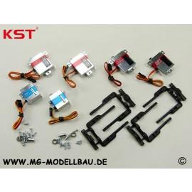 KST F3J-F3B-F3F Digital Servoset de Luxe