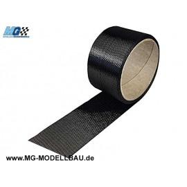 Kohle gewebeband 200 g/m³ 1meter