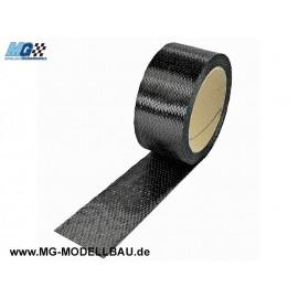 Kohlefaserband 300 g/m², 6K,UD, 45mm bre