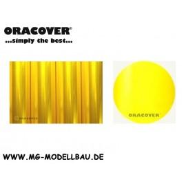 Bügefolie Transparent gelb 1mtr.
