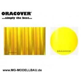 Bügefolie Transparent gelb 0,5mtr.