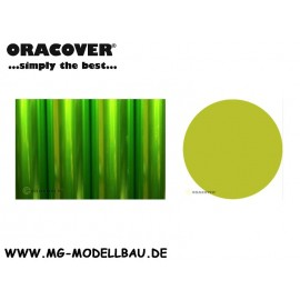 Bügefolie Transparent hellgrün 1mtr.