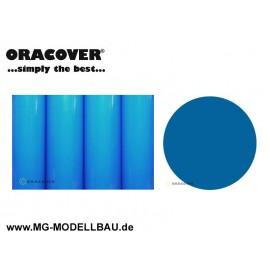 Bügelfolie fluoreszierend blau 1mtr