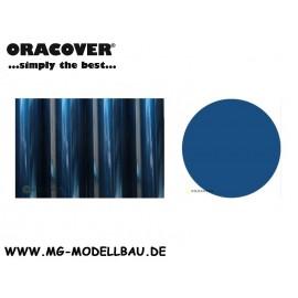Bügefolie Transparent blau 0,5mtr.
