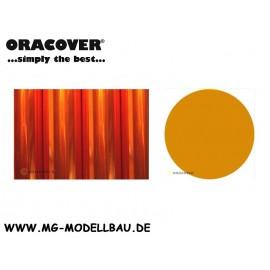 Bügelfolie Transparent orange 1mtr.