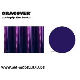 Bügefolie Transparent blaulila 1mtr.