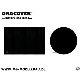 ORASTICK Klebefolie Schwarz  1mtr.